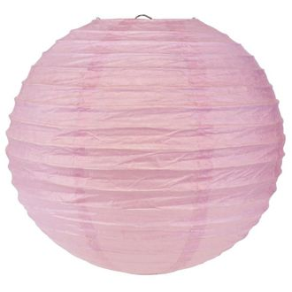 Final Clearance 24in Paper Lantern Light Purple
