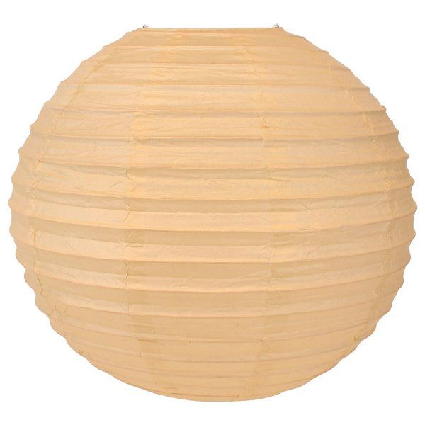 Final Clearance 24in Paper Lantern Straw