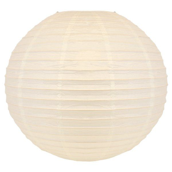 Final Clearance 24in Paper Lantern Wedding White