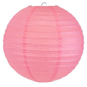 Final Clearance 30in Paper Lantern Light Pink
