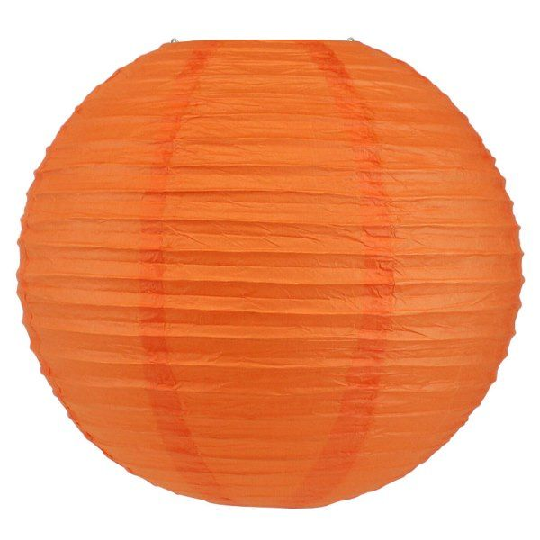 Final Clearance 30in Paper Lantern Orange