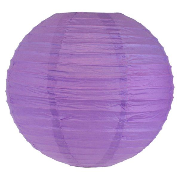 Final Clearance 30in Paper Lantern Purple
