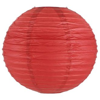 Final Clearance 30in Paper Lantern Red