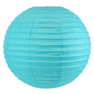 Final Clearance 30in Paper Lantern Turquoise