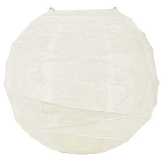 Final CLEARANCE 6inch Free Style Paper Lantern White