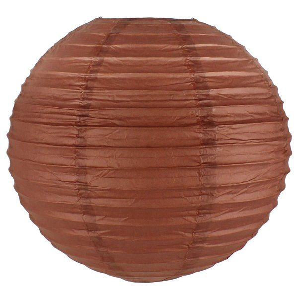 Final Clearance 6inch Paper Lantern DarK Orange