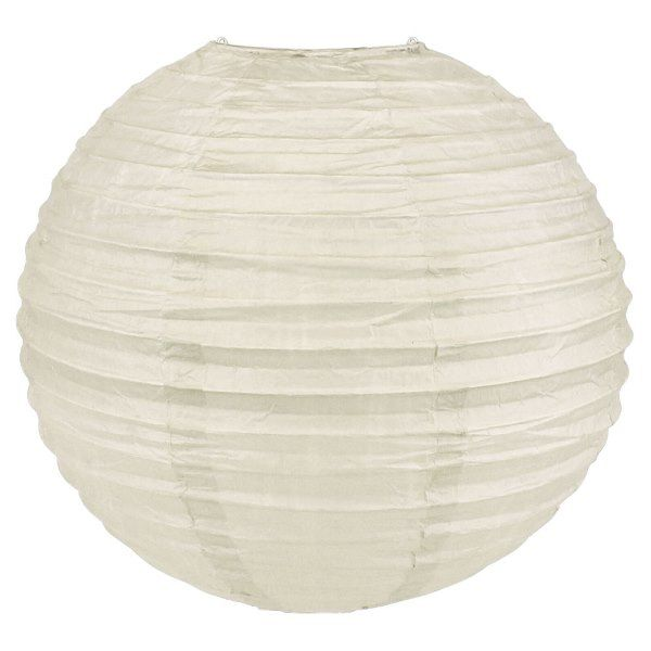 Final Clearance 6inch Paper Lantern Light Grey