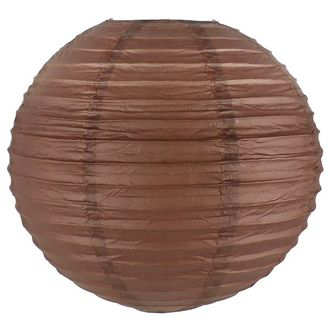 Final Clearance 8inch Paper Lantern Chocolate