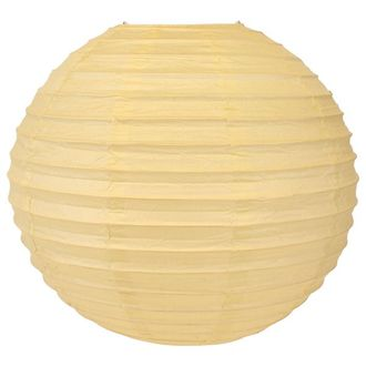 Final Clearance 8inch Paper Lantern Ivory
