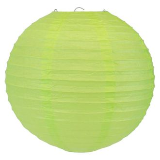 Final Clearance 8inch Paper Lantern Light Green