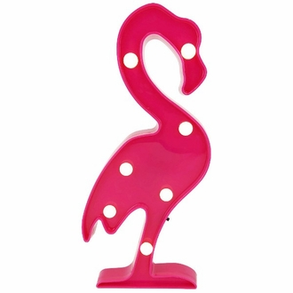Flamingo Fuchsia 12in Marquee LED Battery Operated Light