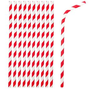 Flexible Bendable Paper Straws