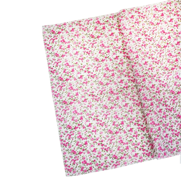 CLEARANCE Floral Table Runner Bambina Pink