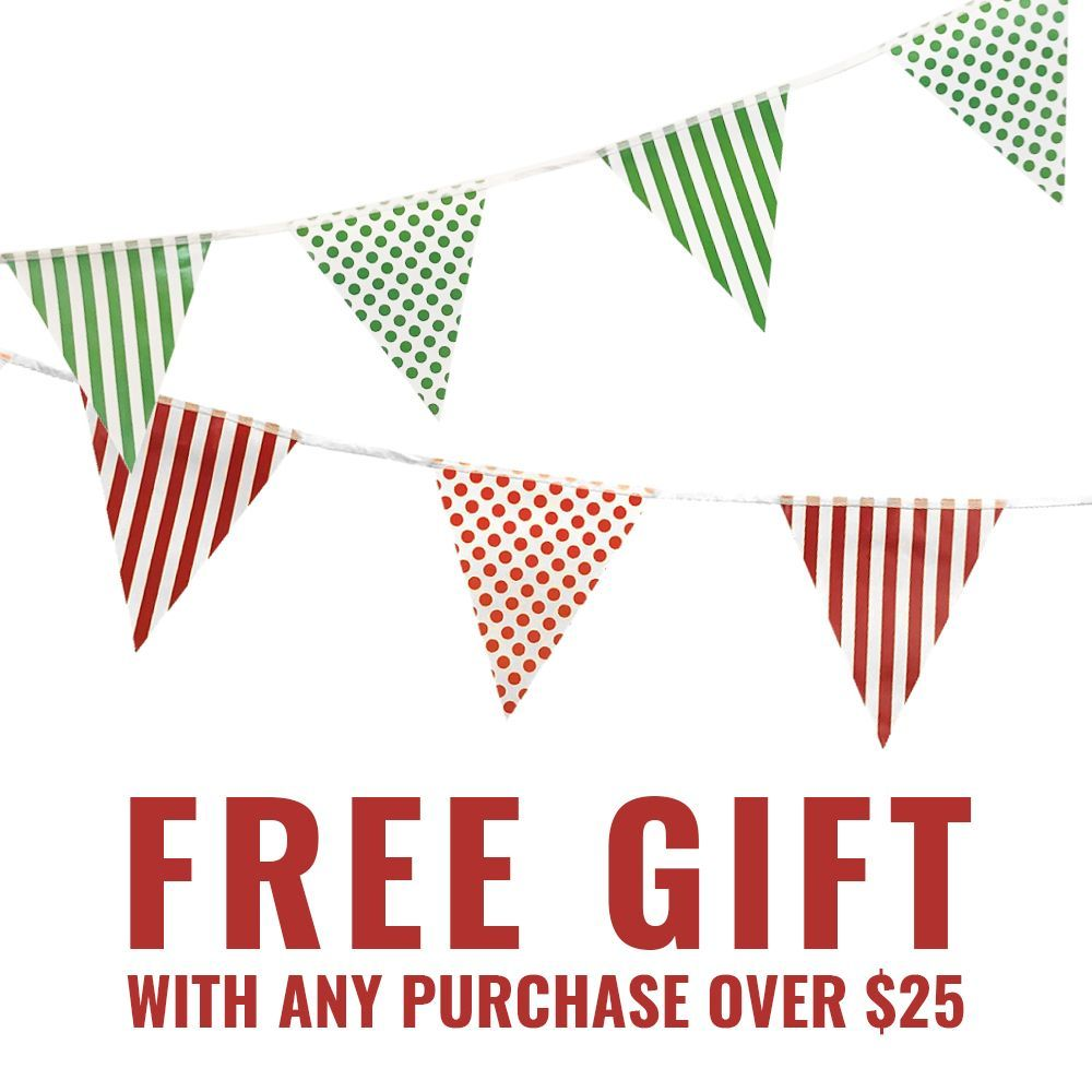 FREE Party Decoration Gift with Purchase over $25