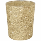 "Glitter Votive Candle Holder 2.75"" H (6pcs, Glitter Gold) - Premier"