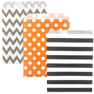 Halloween Paper Treat Bags 72pcs Boo Collection