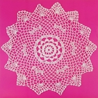 Large Cotton Lace Crocheted Doilies 4pcs Henrietta White