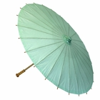 Large Paper Parasol 32in Spa Green