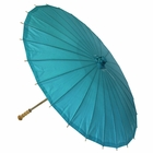 Large Paper Parasol 32in Teal