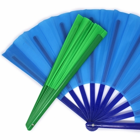Large Silk Hand Fans