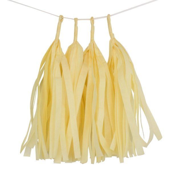Lemonade Tassel Garland 4pcs