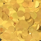 Metallic Foil Confetti Dots Gold