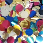 Metallic Foil Confetti Dots Multi-Color
