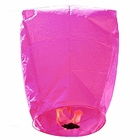 Mini Premium Eco-Wire Free Eclipse Sky Lanterns (Set of 20, Pink) - Premier