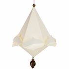 CLEARANCE Origami Ornament Tassel White Heike