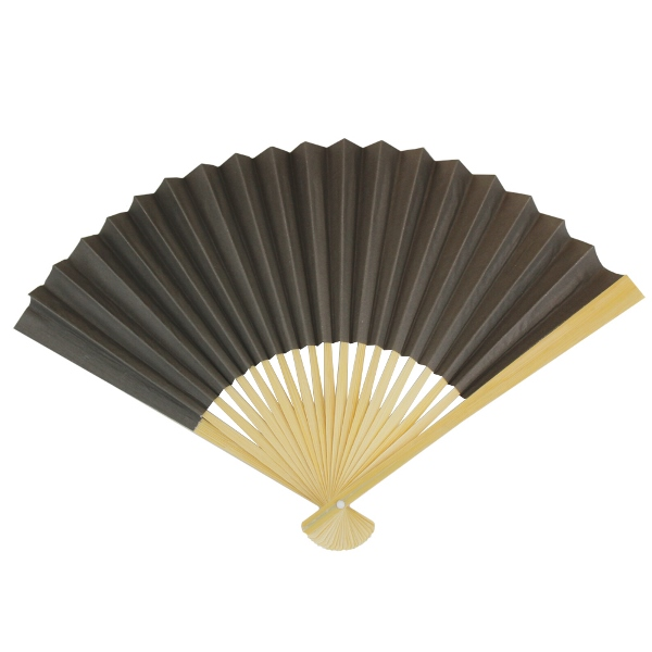 Paper Hand fan Driftwood Grey
