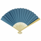 Paper Hand fan Wedgewood Blue