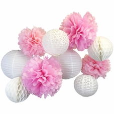 Lanterns, Poms, Honeycomb Balls Kits