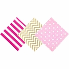 "Paper Napkins 120pc Assorted ""Baby Shower Girl"" Decorative Pack - Premier"