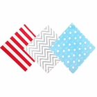 Paper Napkins Assorted Decorative Pack 120pcs Freedom - Premier