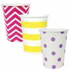 "Party Paper Cups 36pcs Assorted""Fairytale"" Decorative Pack - Premier"