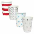 "Party Paper Cups 48pcs Assorted""Freedom"" Decorative Pack - Premier"