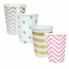 "Party Paper Cups 48pcs Assorted""Gender Reveal"" Decorative Pack - Premier"