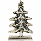 Place Card Holder Christmas Tree Silver