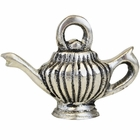 Place Card Holder Genie Lamp Silver