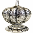Place Card Holder Pumpkin Silver
