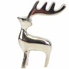 Place Card Holder Reindeer Silver