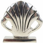 Place Card Holder Seashell Silver