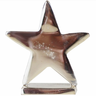 Place Card Holder Star Silver