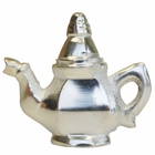 Place Card Holder Teapot Silver