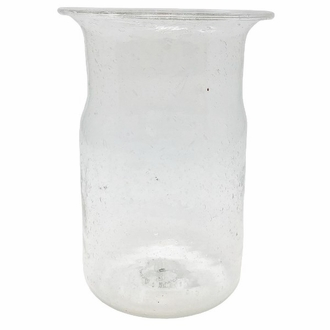 CLEARANCE Recycled Glass Tall Vase Clear Tital