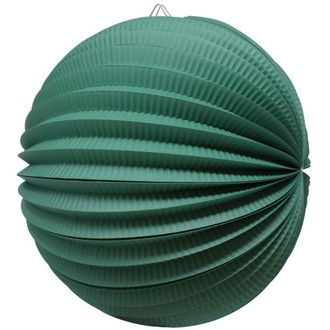 "Round Accordion 12"" Paper Lantern Teal"