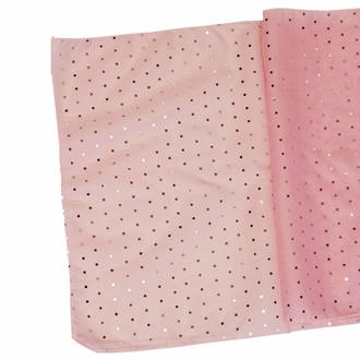 Sequin Table Runner Bambina Pink