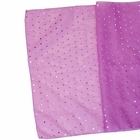 CLEARANCE Sequin Table Runner Lilac Purple