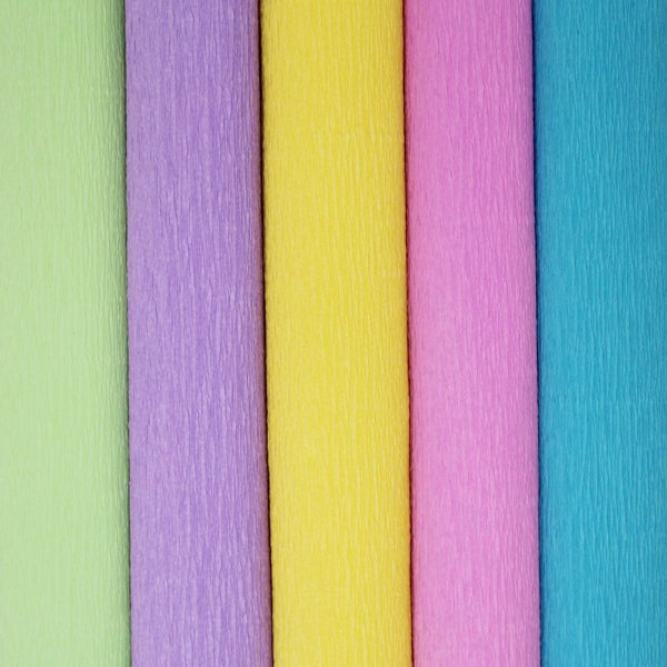 Spring Air Assorted Crepe Paper Roll Package 5pcs