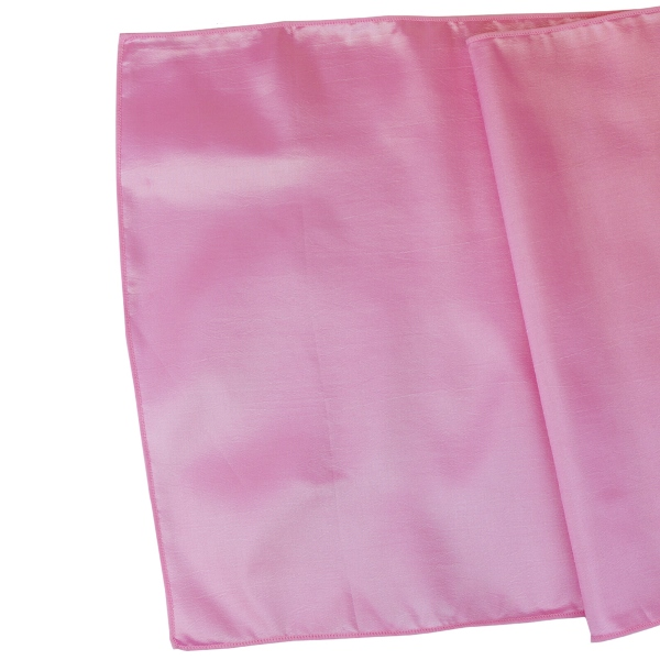 Taffeta Table Runner Bambina Pink